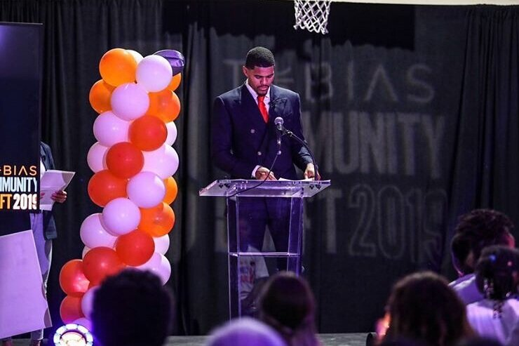 Tobias Harris Holds 'Community Draft' to Announce $1 Million Donation to 9 Charities