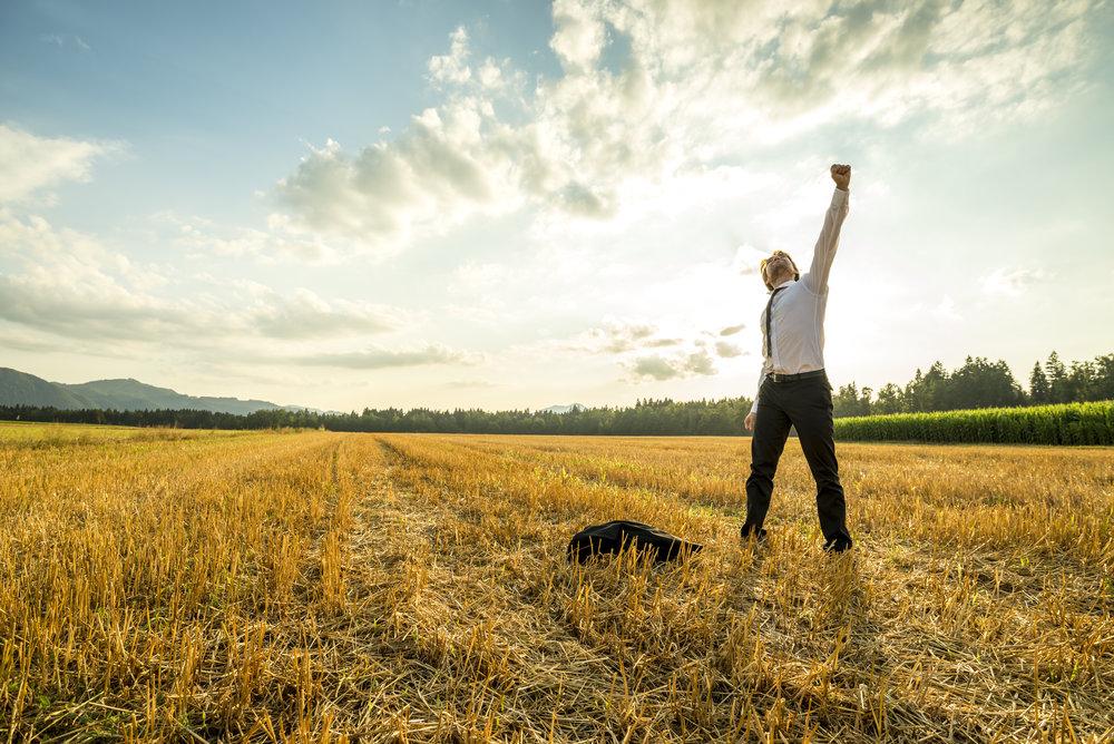 businessman-in-the-field-raising-arm-for-success-PLNK55N.jpg