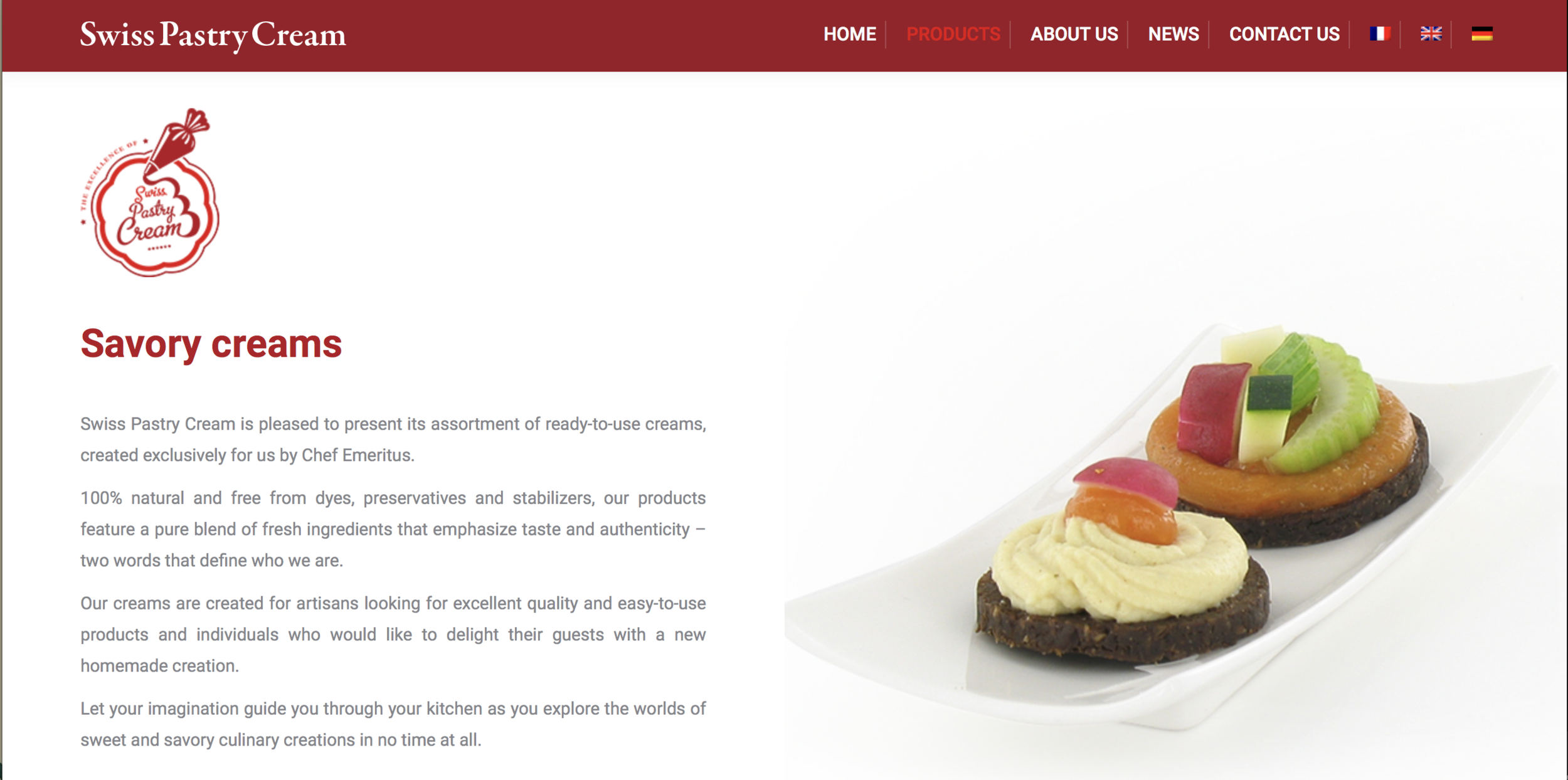Savory creams _ overview (screenshot).png