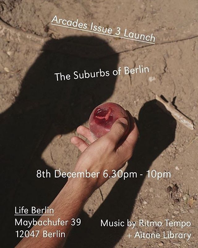 @arcadesmagazine The Suburbs of Berlin #issue3 #arcadesmagazine #suburbs #archiviomadre #regram