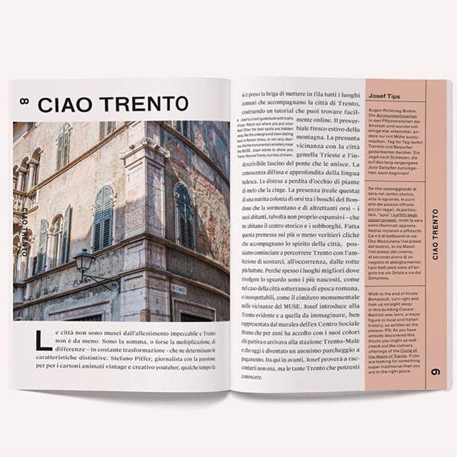 'Not one Trento, but lots of them' @joseftravelbook #archiviomadre #regram  #joseftrento #joseftravelbook #trilingual #josef #citytrip #citytripwithjosef #trento #travelbook #travelguide