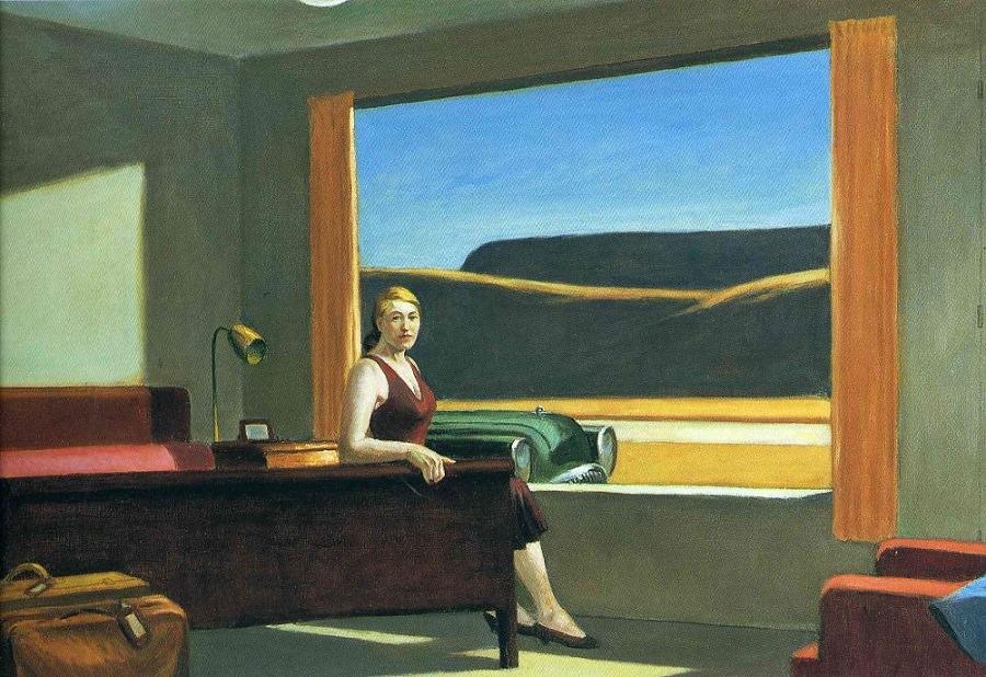 Western Motel, Edward Hopper, 1957