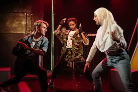 Theo Toksvig Stewart, Nicole Sawyerr and Shala Nyx as our heroes Petr, Aisha and Laure in Croydon Avengers!