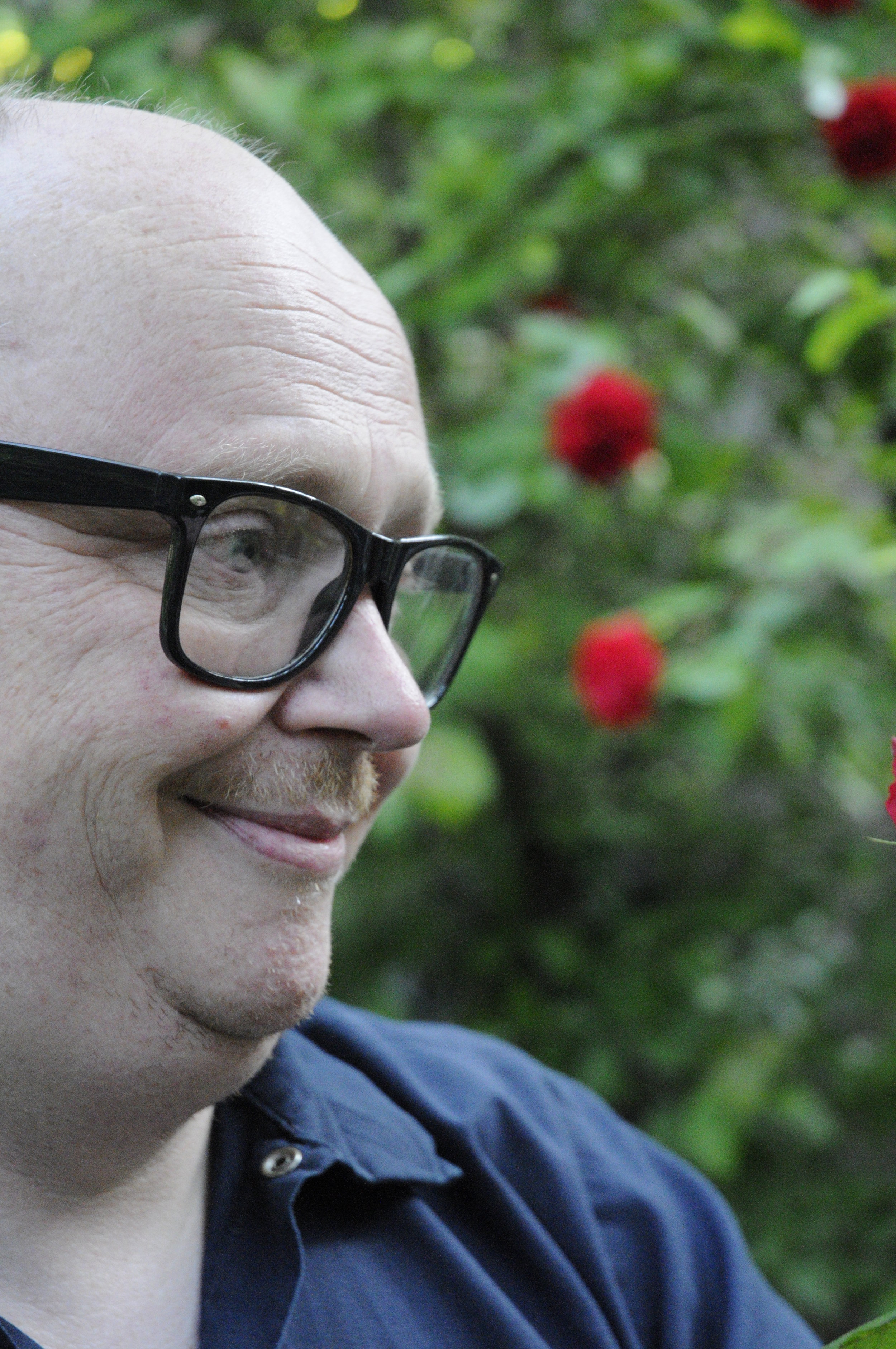 Bei der Gartenarbeit im Elternhaus Kaiser vergisst Jürgen M. die Sorgen des Alltags.