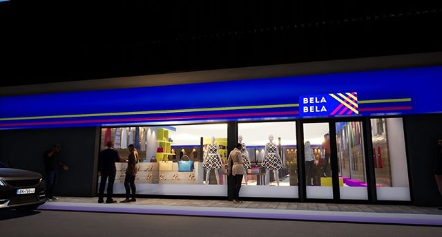 Design for Bela Bela store Middleburg Plaza