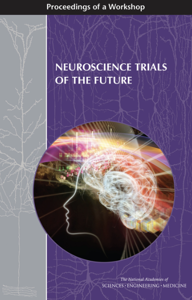 Neuroscience trials of the future: proceeding from a workshop - August 2016. This publication was authored by National Academies of Sciences, Engineering, and Medicine and summaries a workshop conducted a few months prior. The workshop focused on discussing the novel methods and data sources that can improve the integrity, efficiency, and validity of clinical trials for nervous system disorders. Our founder is quoted on numerous occasions on the topic of patient-generated health data (PGHD), digital biomarkers, and patient engagement. Click on the title to download the entire report.