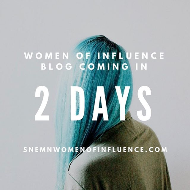 Women of Influence blog launches in 2 days!