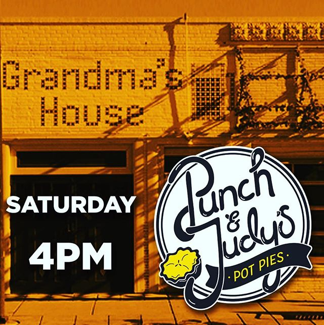 ATTENTION PIE LOVERS: We'll be posted up at Grandma's House Brewery this Saturday at 4pm until we sell out! @grandmasbeerco is full of delicious craft beers, shelves of board games, and loads of old school video games. Don't snooze on this one, or you'll miss your chance for some all-from-scratch pot pies! ——————— Menu: Classic Pot Pie - Chicken, Veggie or Seitan. Jalapeño Popper Pie. Honey-Ginger Apple Pie, Cinnamon Roll Pie, Smoked Cheddar Mac