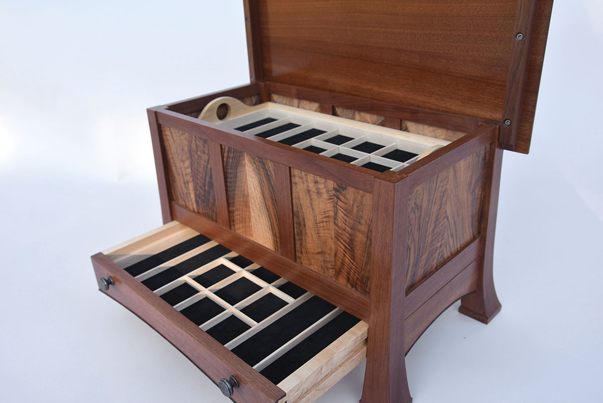 Open Jewelry Chest