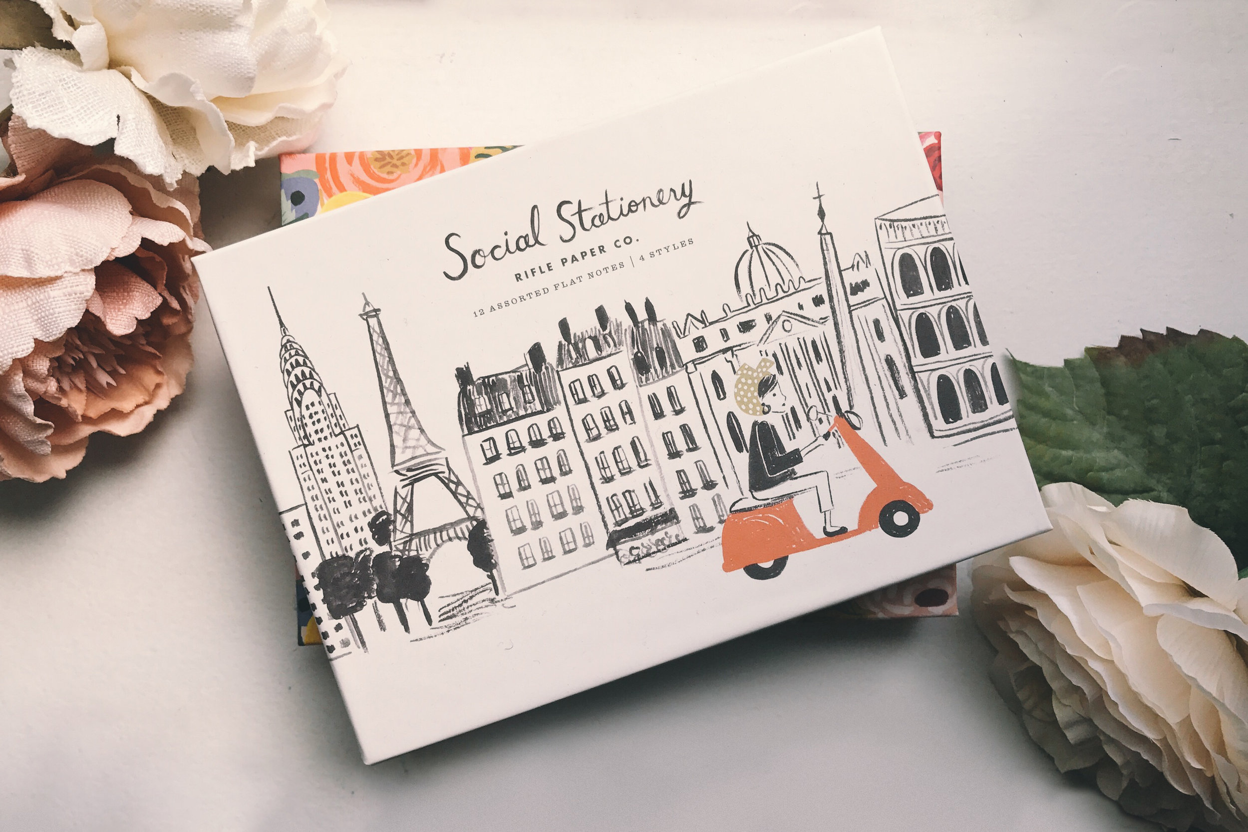 rifle paper co stationary at the qg