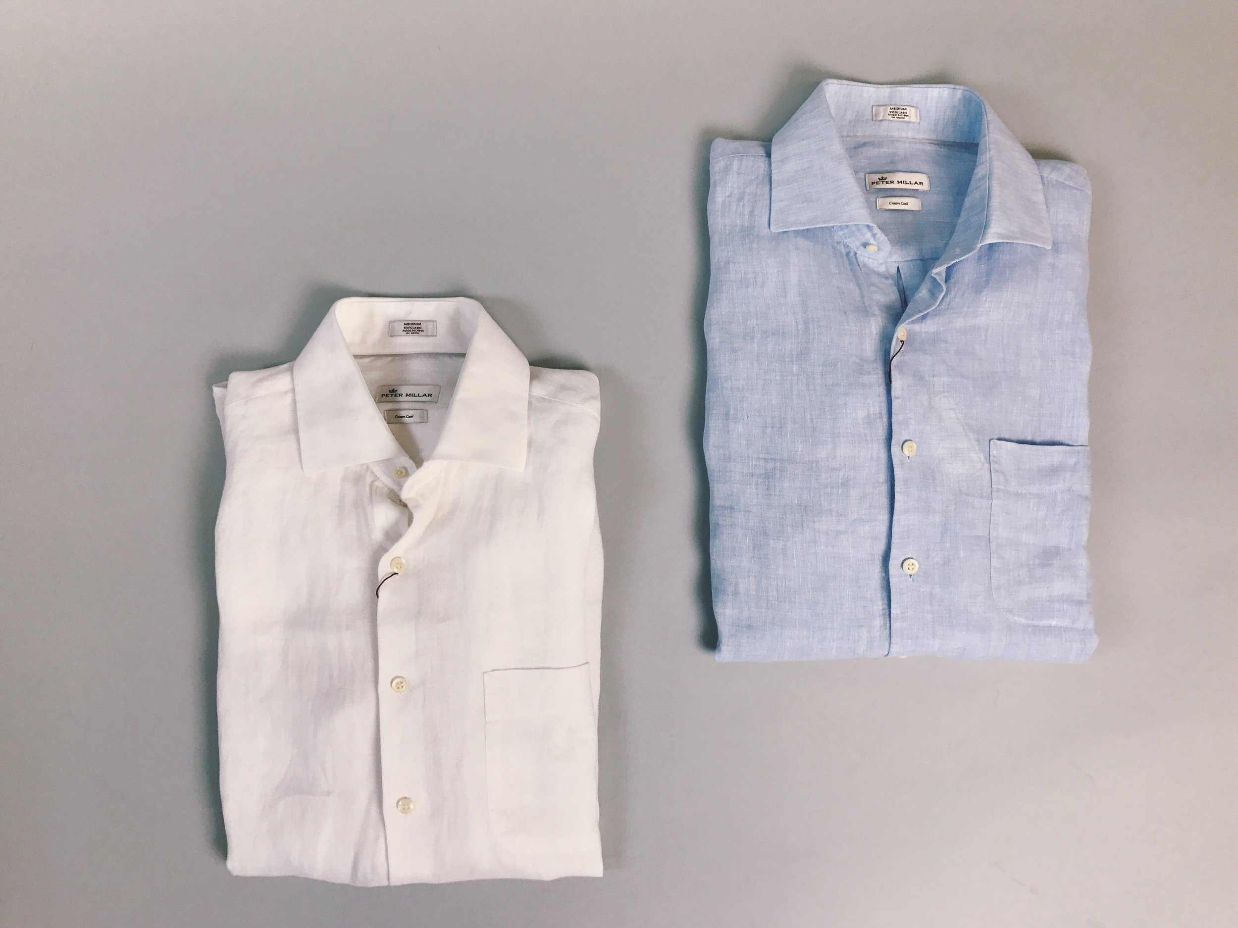 peter millar linen shirt at the qg