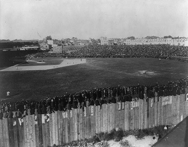 Photo of the decisive final game at Union Park September 27 th 1897