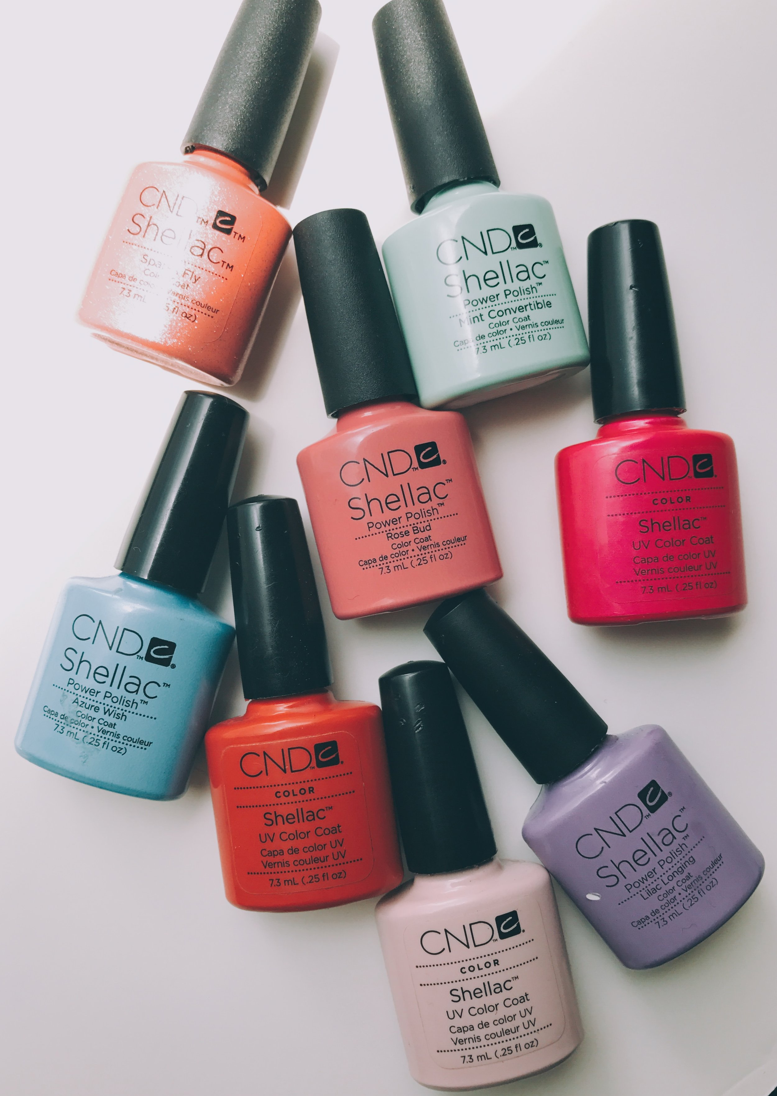 A few of our favorite summer shades at The QG Spa
