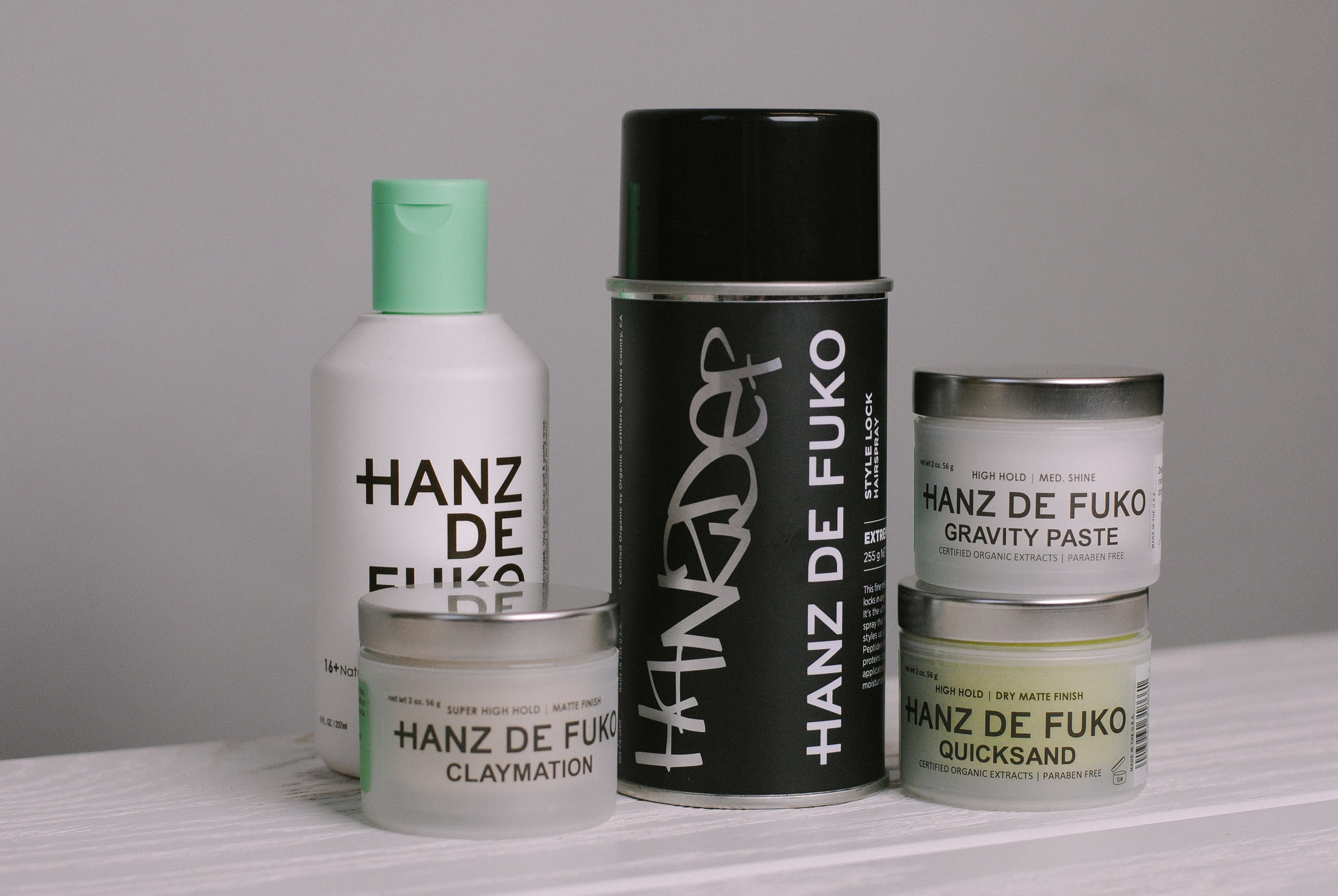 hanz de fuko hairspray at the qg