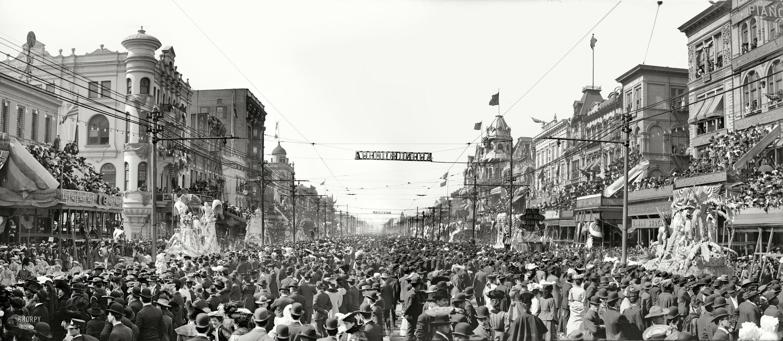 Mardi Gras: New Orleans 1907