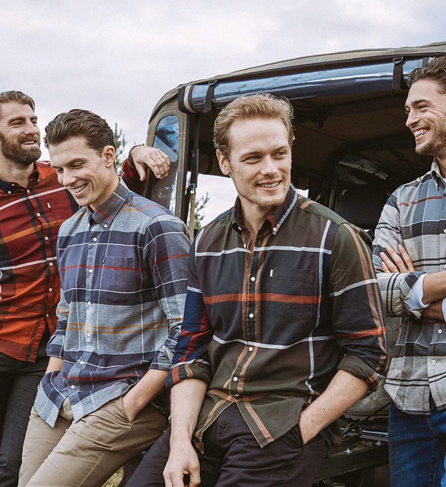 Barbour's Fall Winter 18 Flannel Series