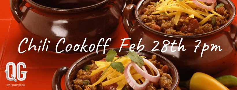 Do you have a championship chili recipe worthy to go at QG's Clock Restoration.