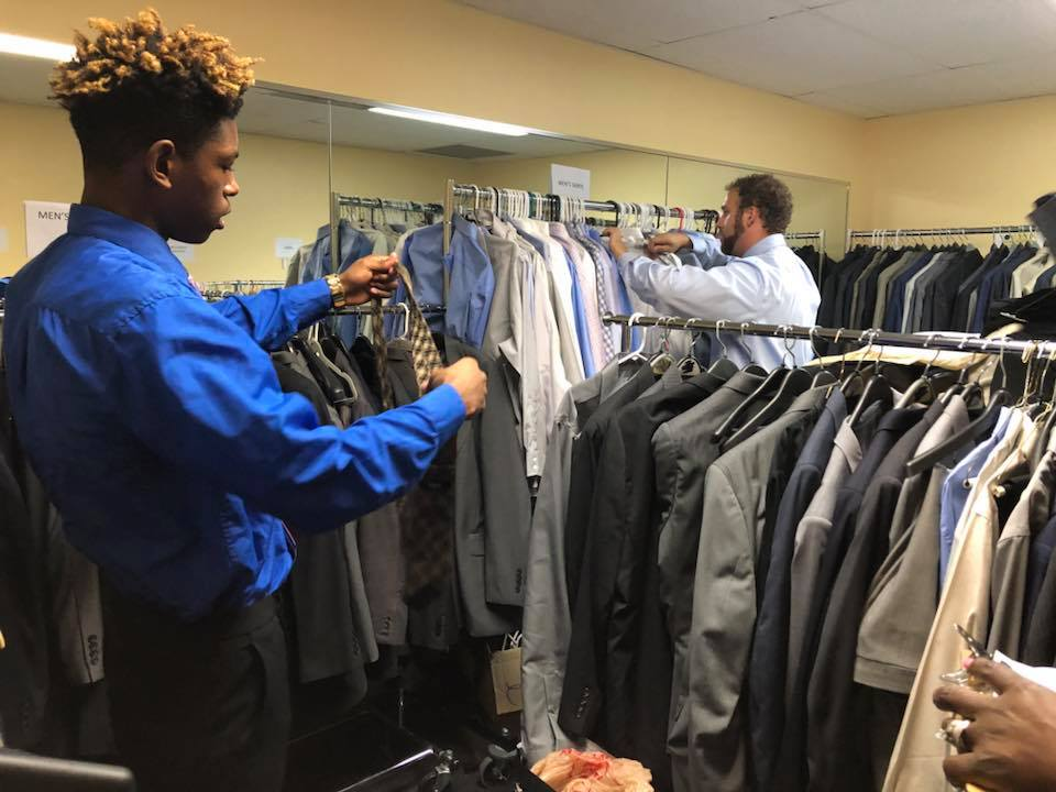 All Year Up students are required to wear professional clothes for their training and internships.