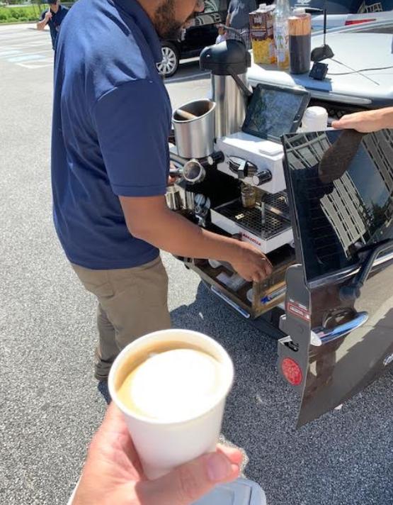 Vagrant Coffee's Mini & mobile caffeine dispenser