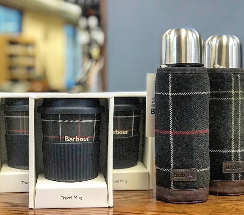 Barbour Tartan Travel Mugs