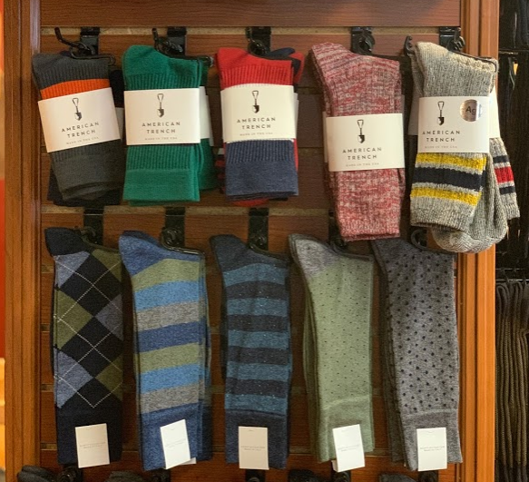 Socks that men actually want by Geoff Nicolson, Pantherella and American Trench