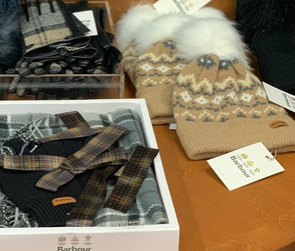 Women's Barbour Accessories: Gift Packs, Slippers, Hats and Gloves