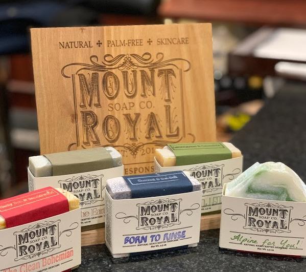 Mount Royal Soaps, Shaving Creams and Beard Balms