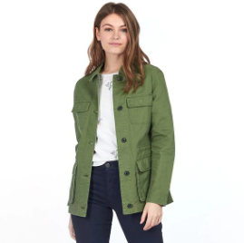 Barbour Lola Washed Casual Jacket