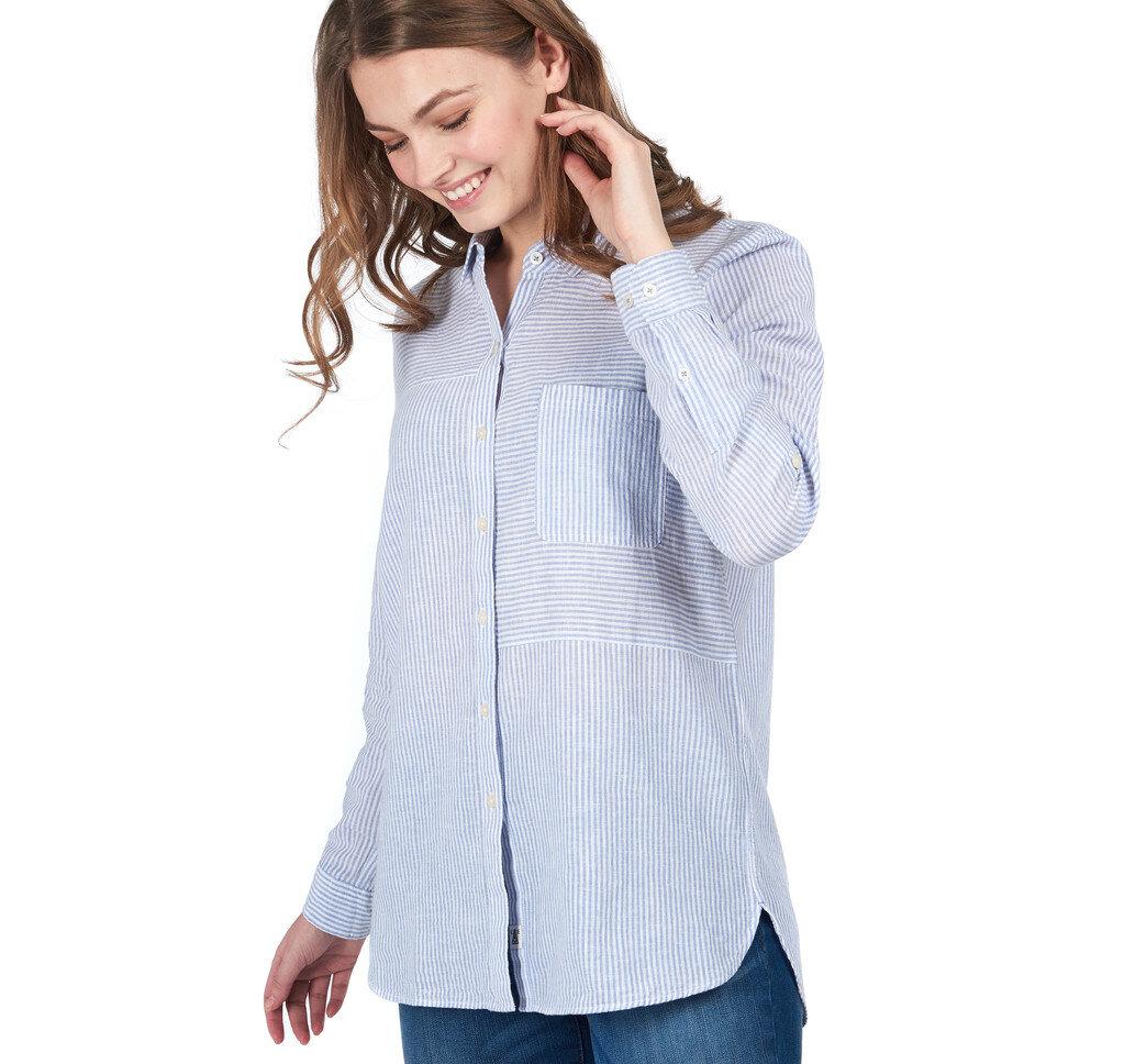 Barbour Beachfront Skyline Blue Shirt