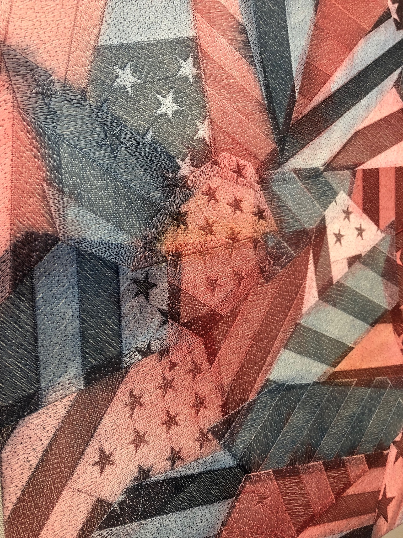 SHATTERED FLAGS