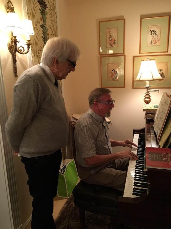 Bill Hogue and David Kelly