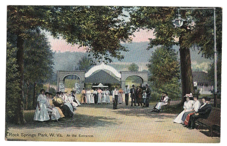 Rock Springs Park Entrance