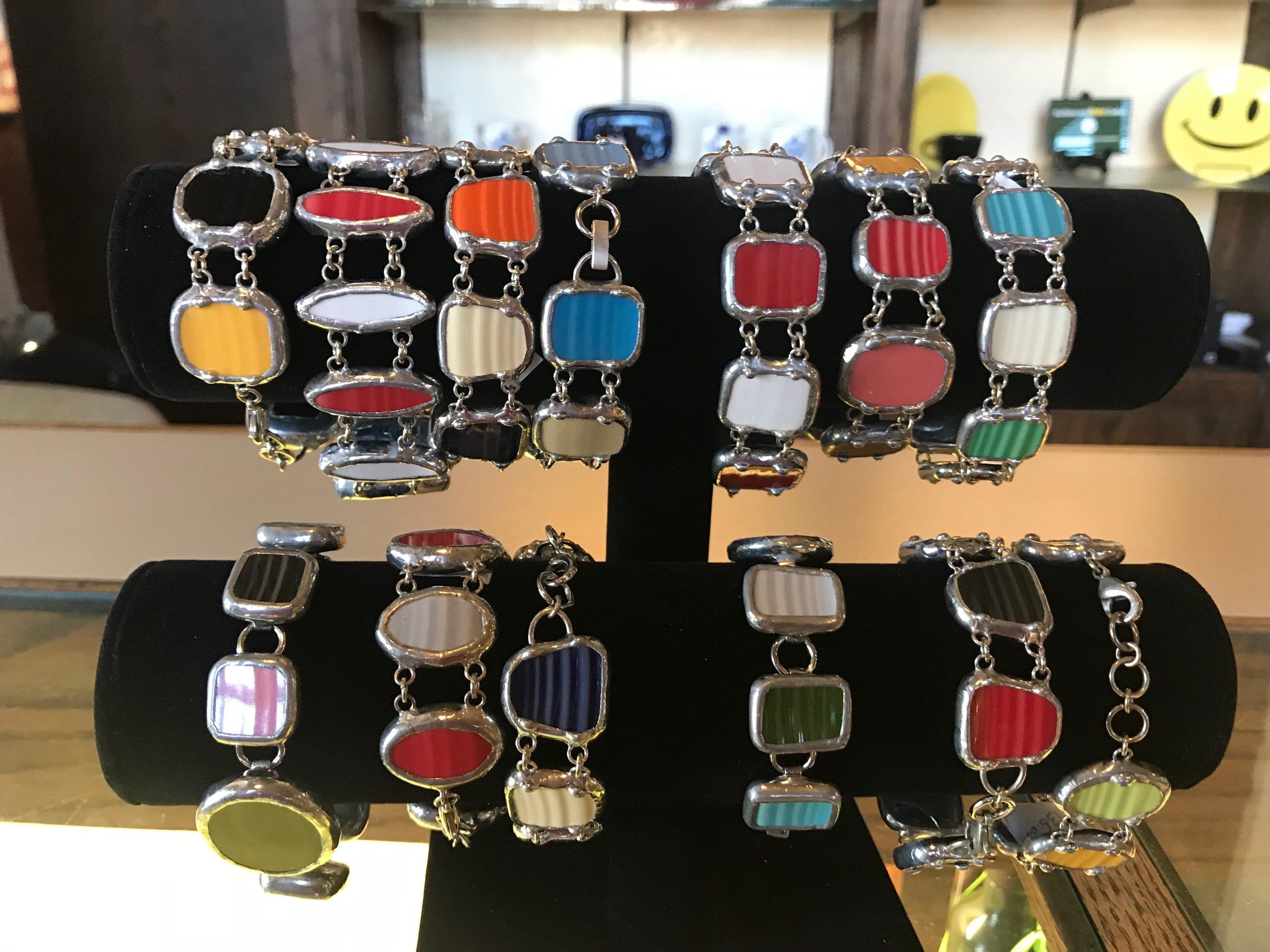 Pottery shard jewelry
