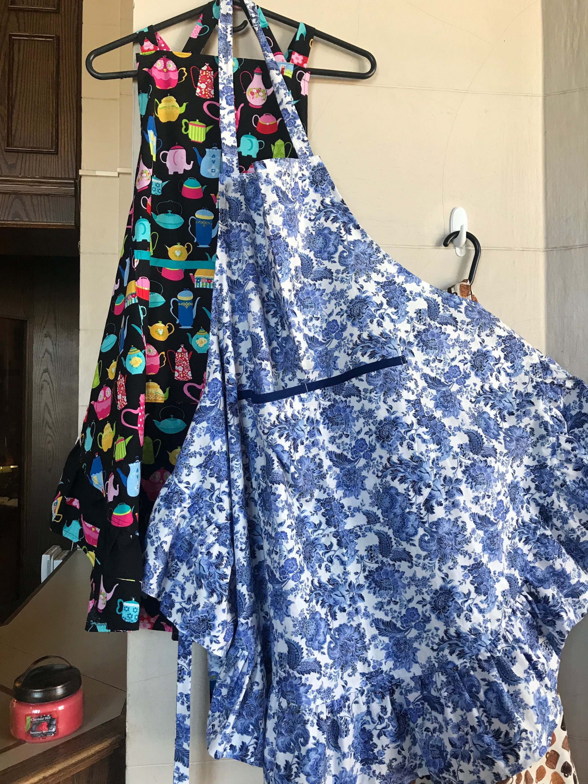 Locally made aprons