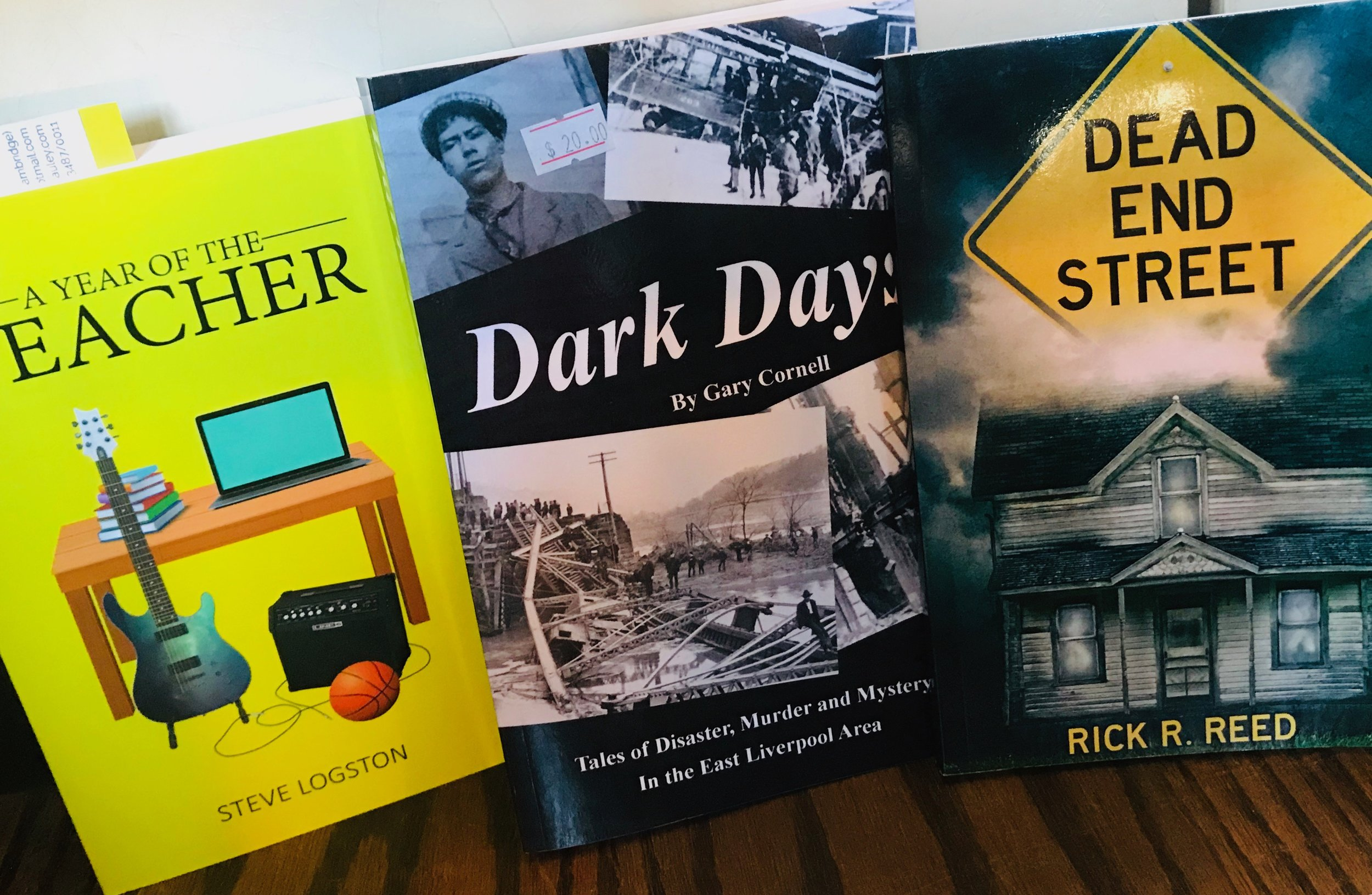 Books by local authors