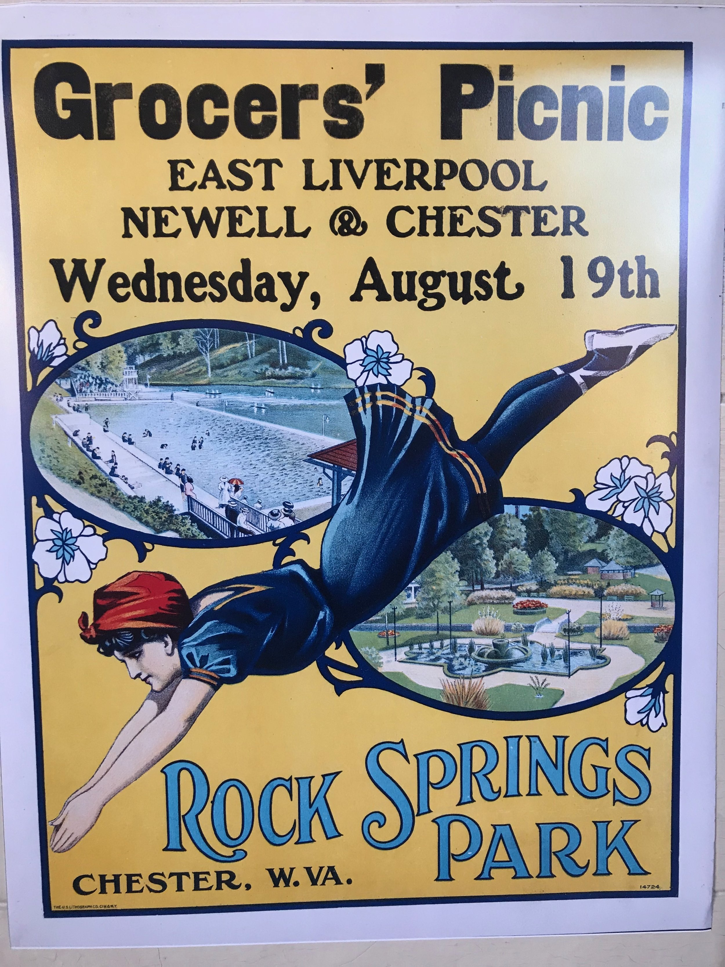 Reproduction of RSP poster
