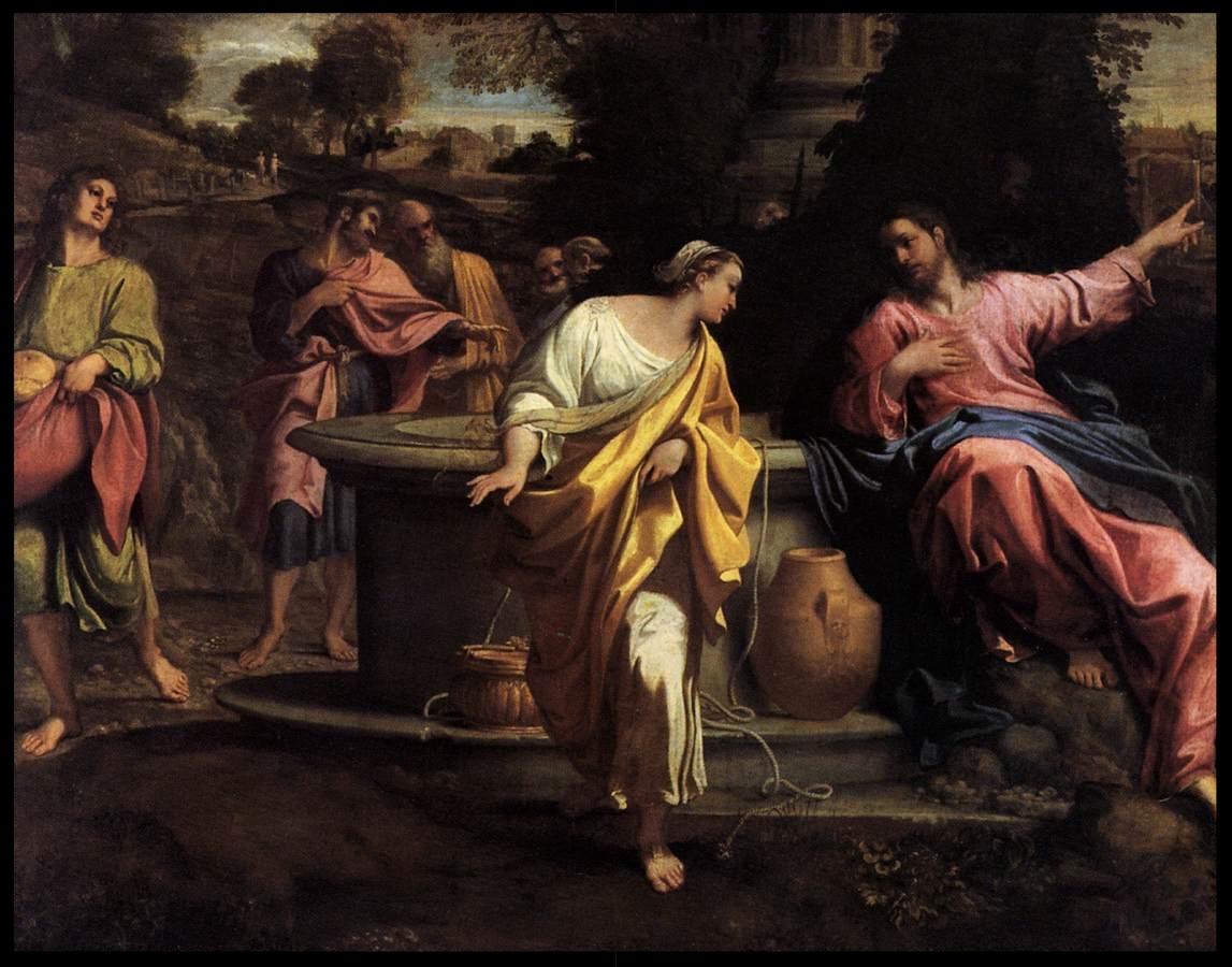The Samaritan Woman at the Well - Annibale Carracci