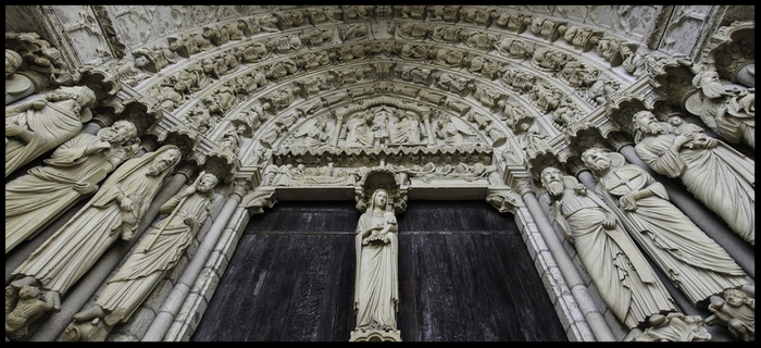 Chartres Cathedral - Grand Portal - France