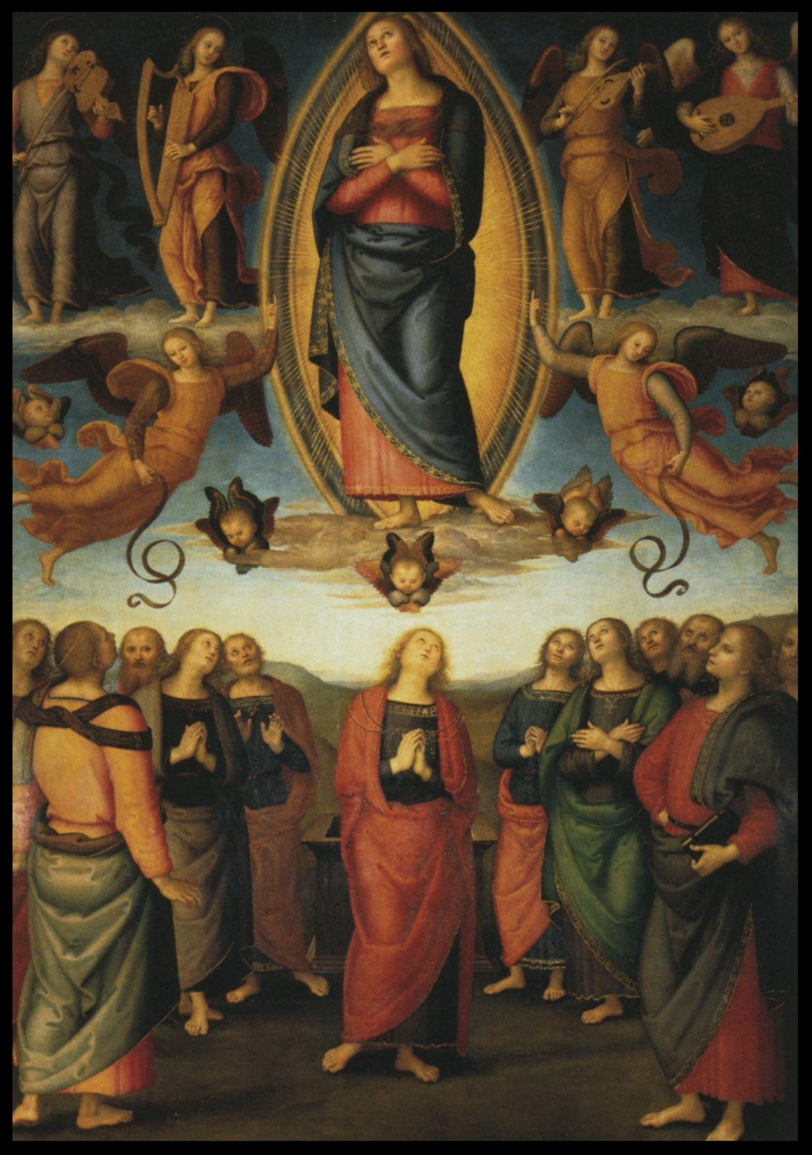 Assumption of Mary - Pietro Perugino