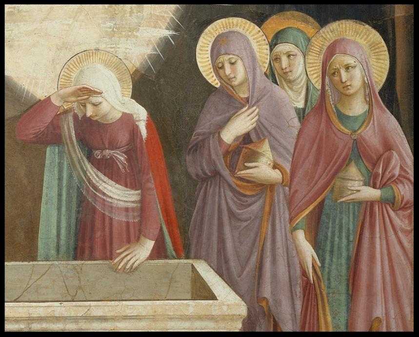 The Empty Tomb - Fra Angelico -1395-1455