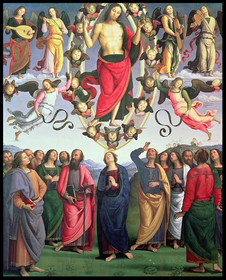 Ascension of the Lord - Perugino - 1496