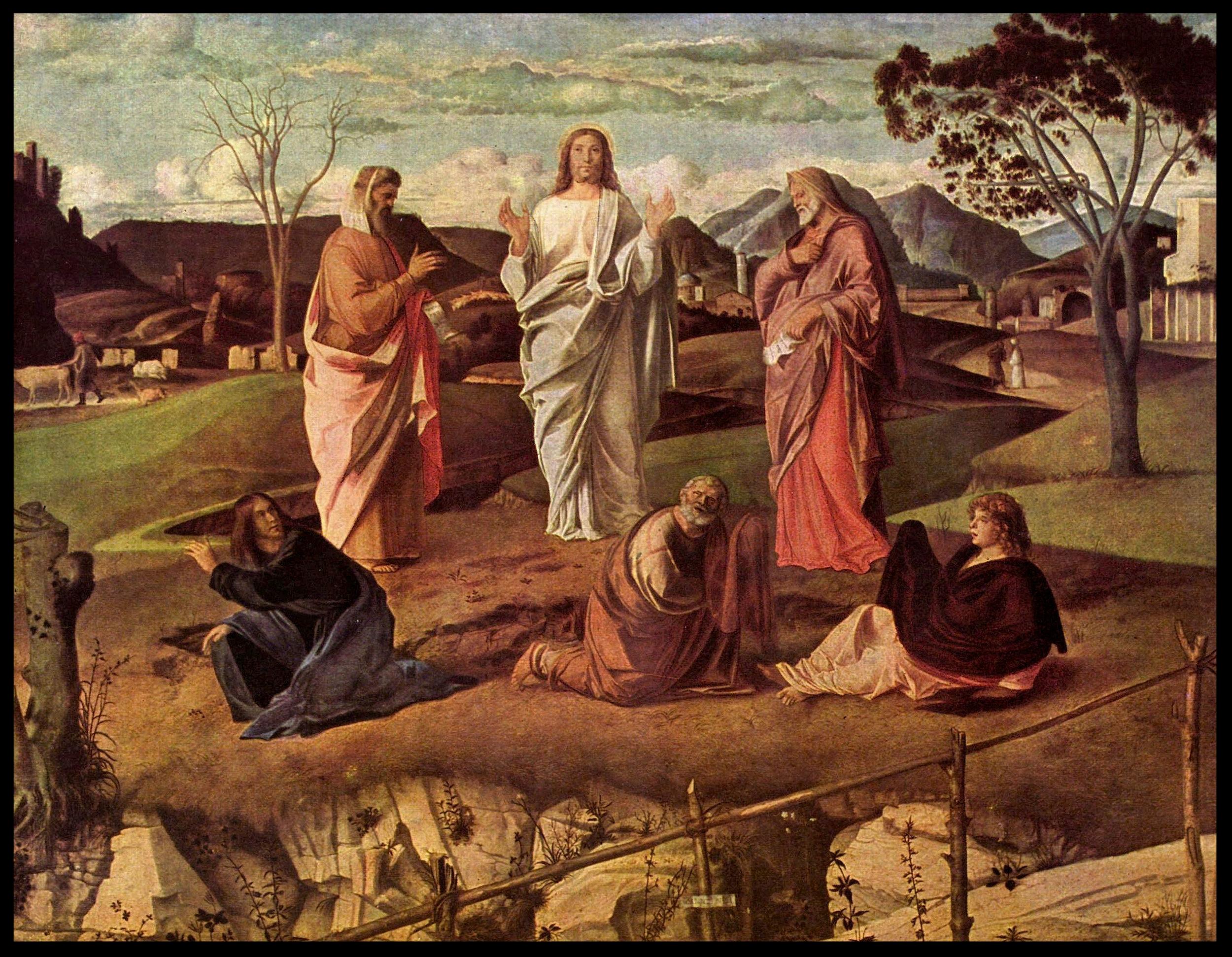The Transfiguration - Giovanni Bellini (1430-1516)