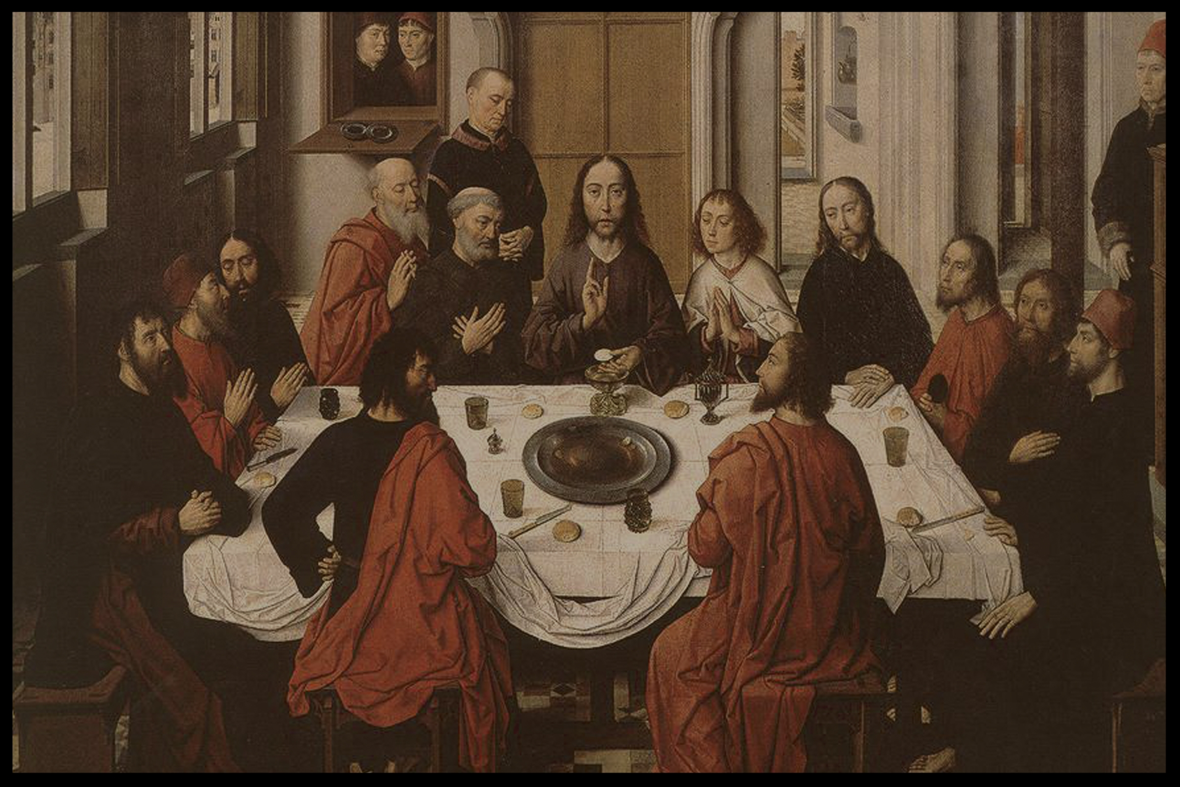 Last Supper Dieric Bouts 1464 - 1468