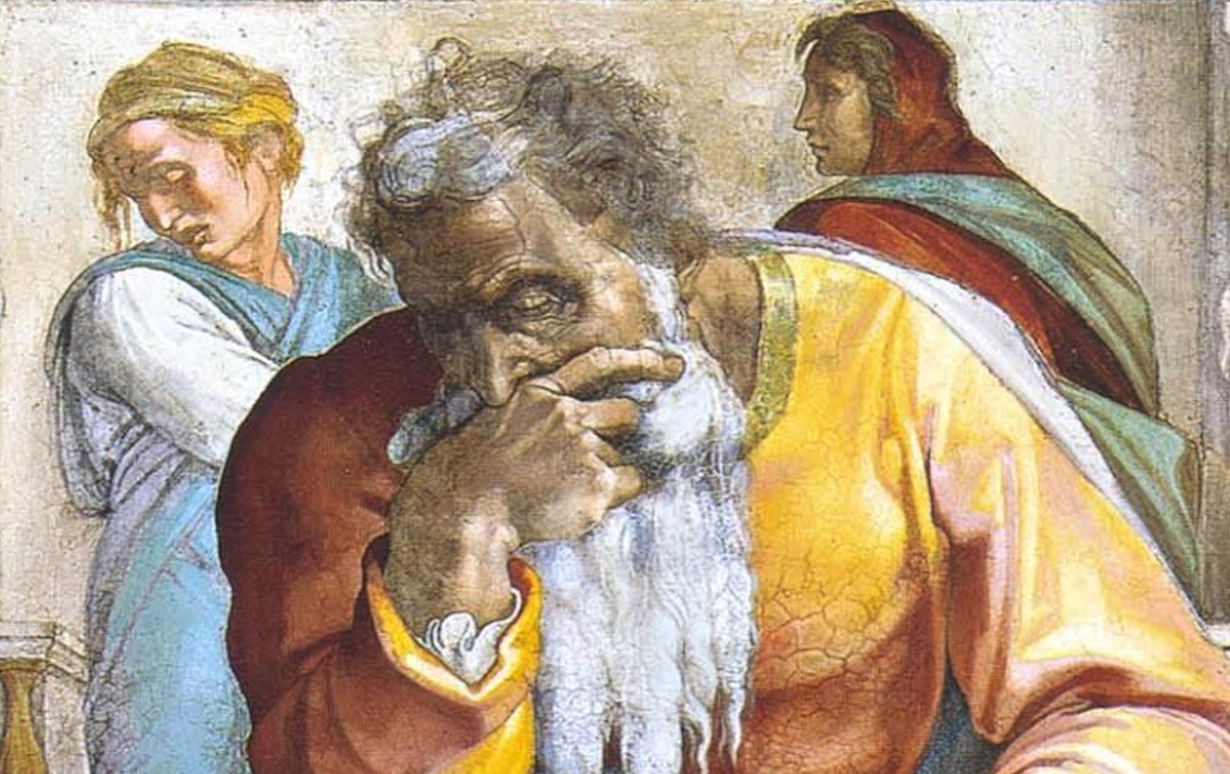 Jeremiah the Prophet - Sistine Chapel