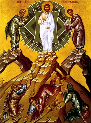 The Great Feast of the Transfiguration of our  Lord God and Savior Jesus Christ.