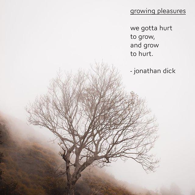 growing pleasures