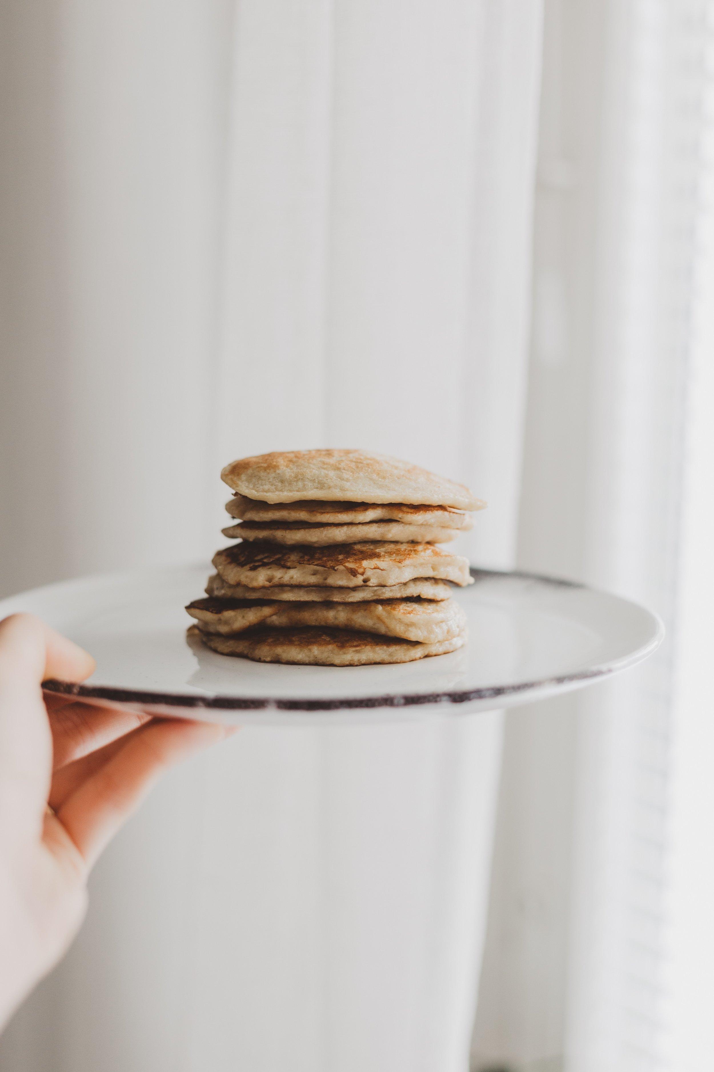 Banana Pancakes Recipe Daryn Mae Blog