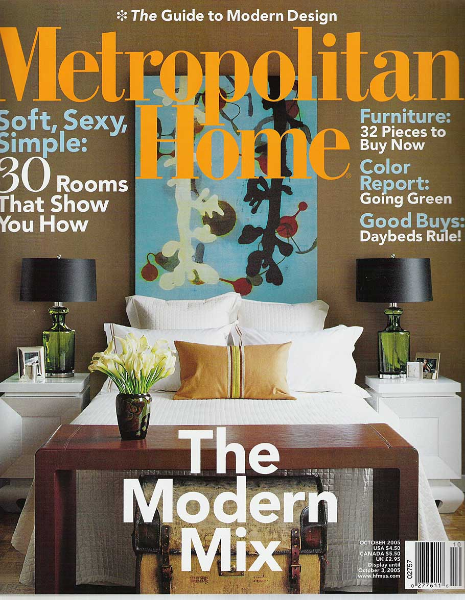 Bill Lowe Gallery Metropolitan Home Cover