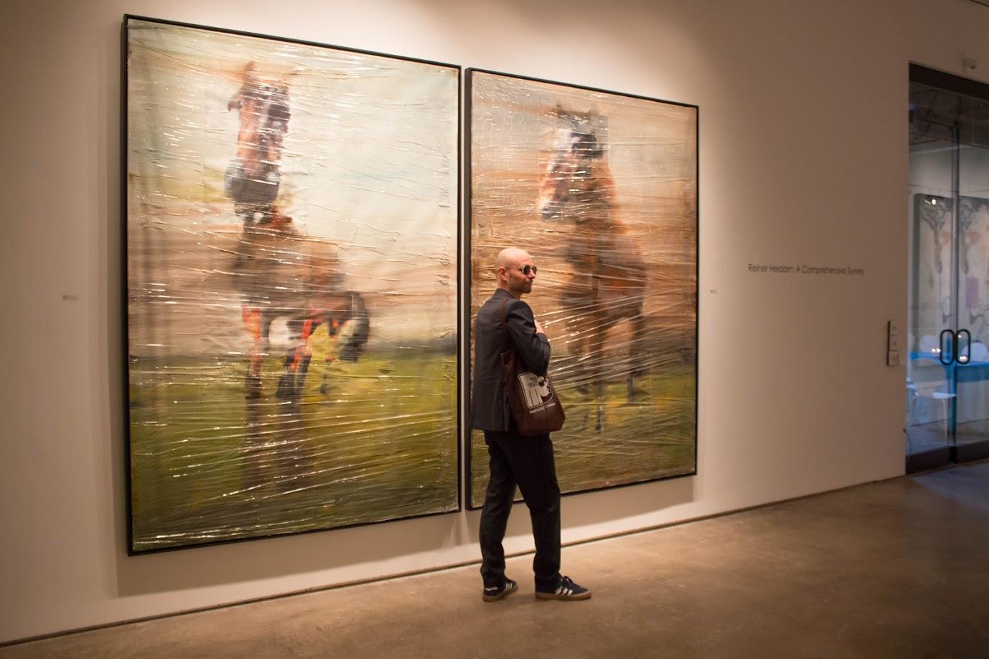 Bill Lowe Gallery Reiner Heidorn Opening 3.jpg