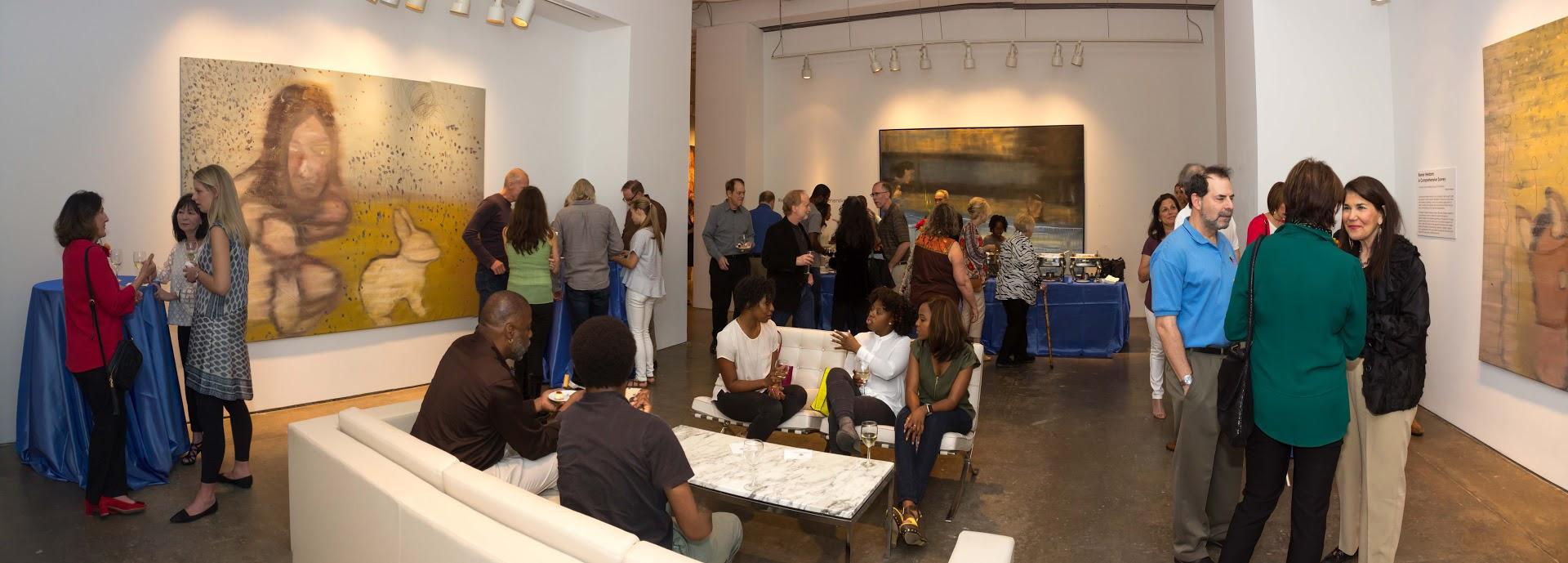 Bill Lowe Gallery Reiner Heidorn Opening 25.jpg